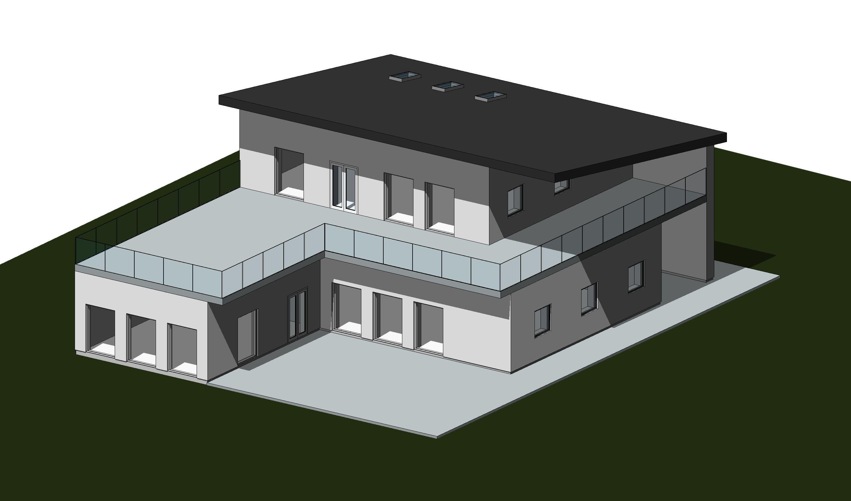 3D model plantegninger renderinger ydelser tegninger bolig hus