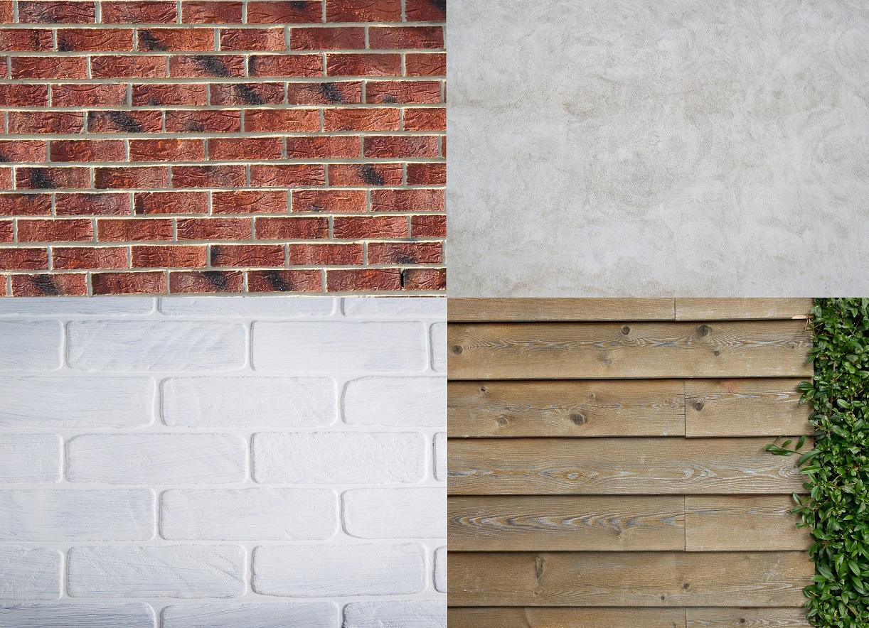 Materialer vægge lofter gulve tage