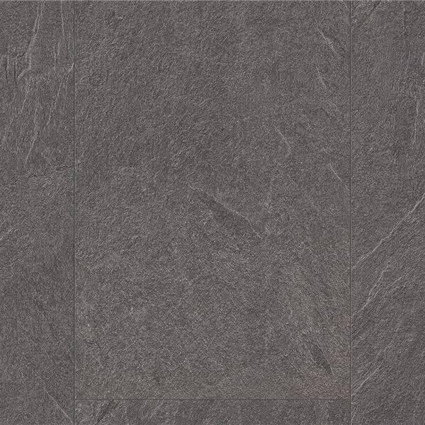 Laminat skifer look gulv grå mat natur