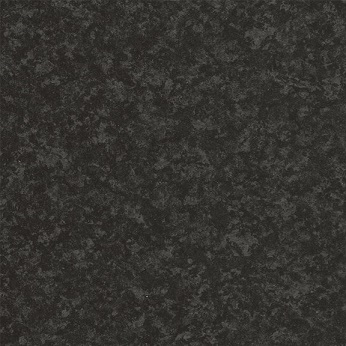 Lamineret køkken bordplade i mat sort granit look