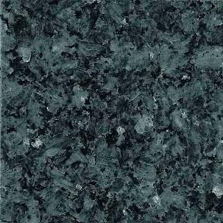 Massiv køkken bordplade i grøn og sort granit sten