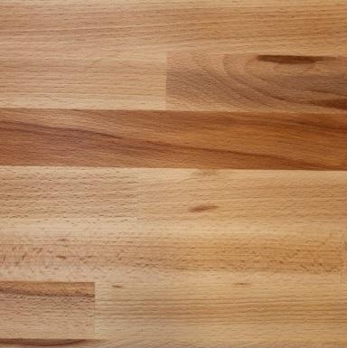 Massiv køkken bordplade i behandlet bøg træ