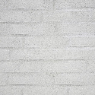 Pudset murstensfacade