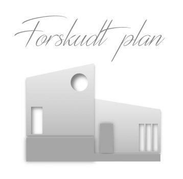Hustype forskudt plan hus